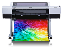Creo EPSON Stylus Pro 7600 proofer photographic printer equipment.
