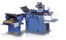 Z folds, single folds and right angle folds with the B-21 MBO Continuous Feed Folder with Right Angle